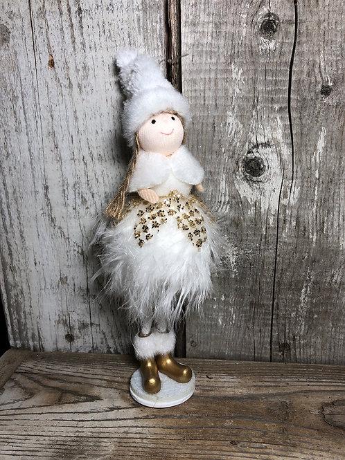 Winter Girl Ornament