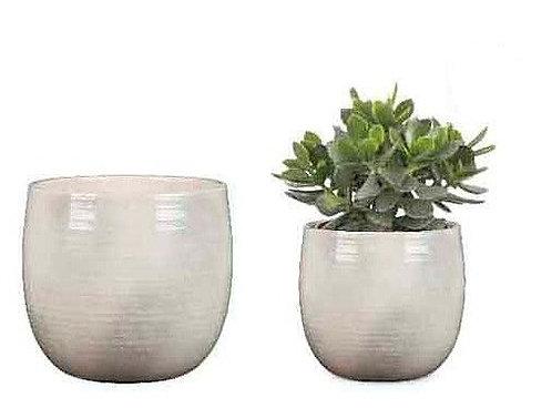Glazed Glass Pots - Assorted