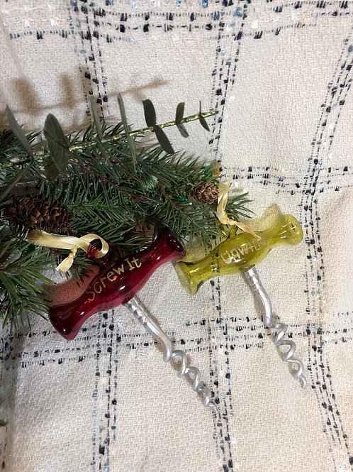 Cork Screw Ornaments