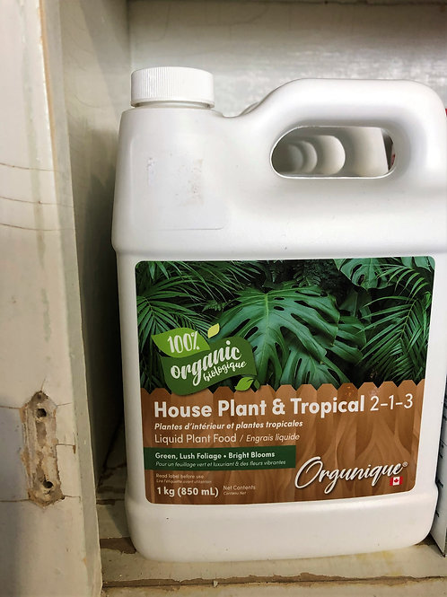 Organic Liquid Plant Food - Houseplant & Tropical