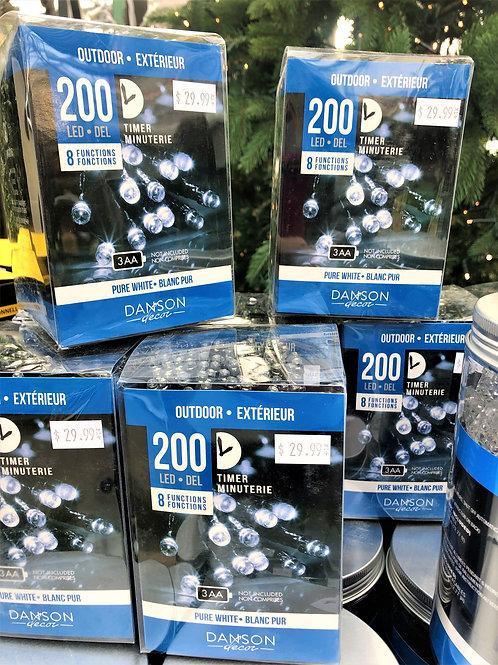 200 LED Outdoor Lights