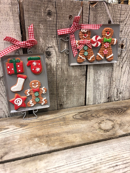 Cookie Sheet Ornaments