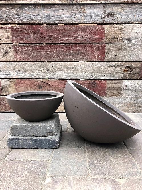 Chocolate Brown Bowl