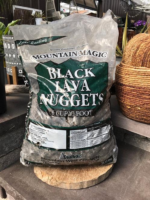 Black Lava Nuggets - Mountain Magic