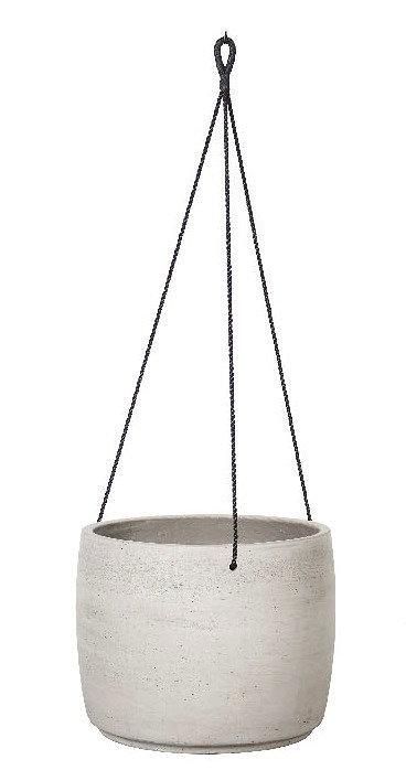 Natural Cement Pot - Hanging