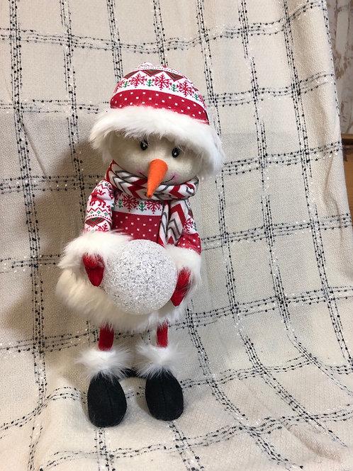 Light Up Bobble Snowman
