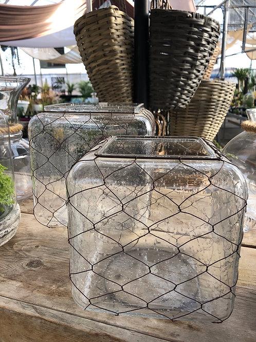 Square Glass Terrarium/Planter