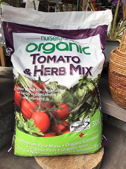 Organic Tomato & Herb Mix 30 Ltrs