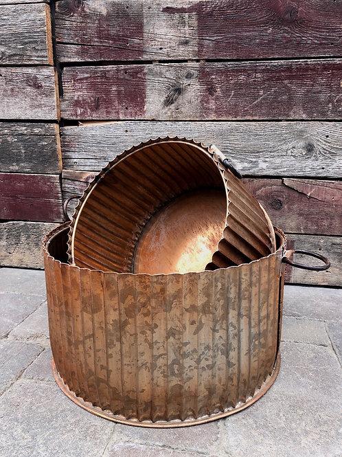 Copper Tin Planter