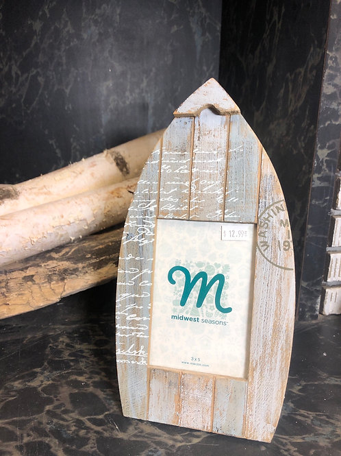 Boat Shaped Picture Frame