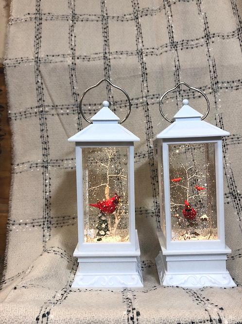 Cardinal Glitter Laterns