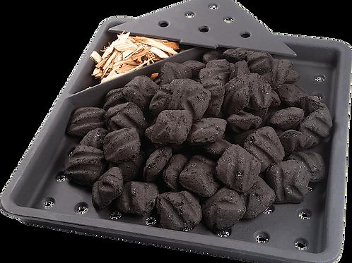 Cast Iron Charcoal Smoker Tray