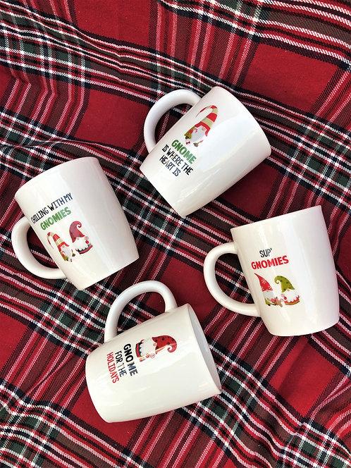 Gnome Mugs - Assorted