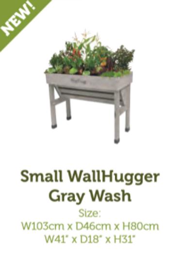 VegTrug Wall Hugger  - Grey Wash