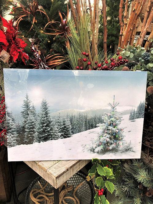 Winter Wonderland LED Picture