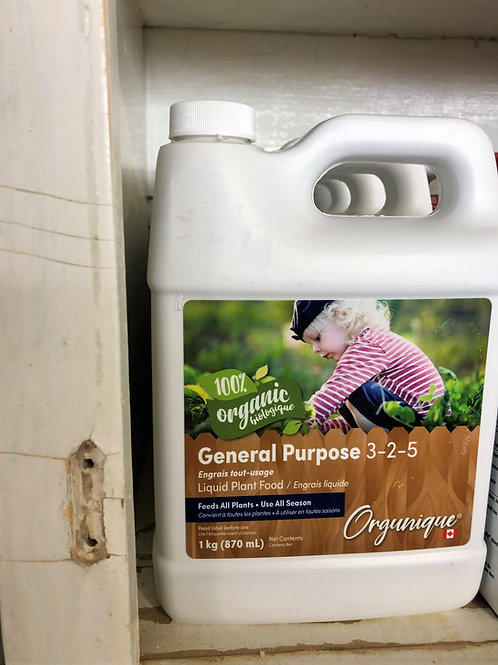 Organic Liquid Plant Food - General Purpose