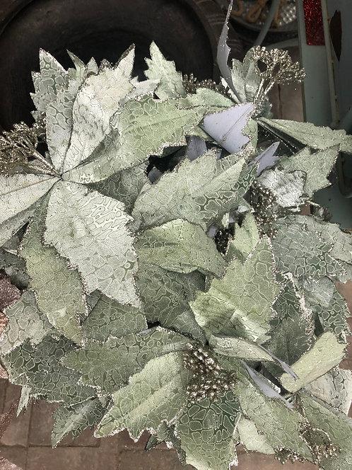 """Mint Flower Picks - 20"""""""