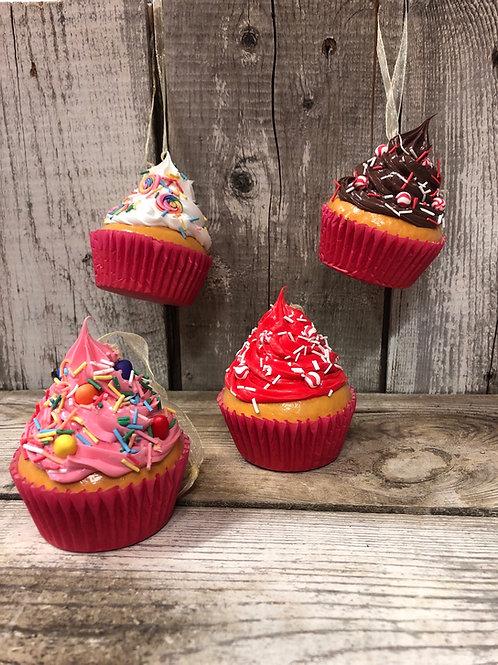 Large Cupcake Ornaments