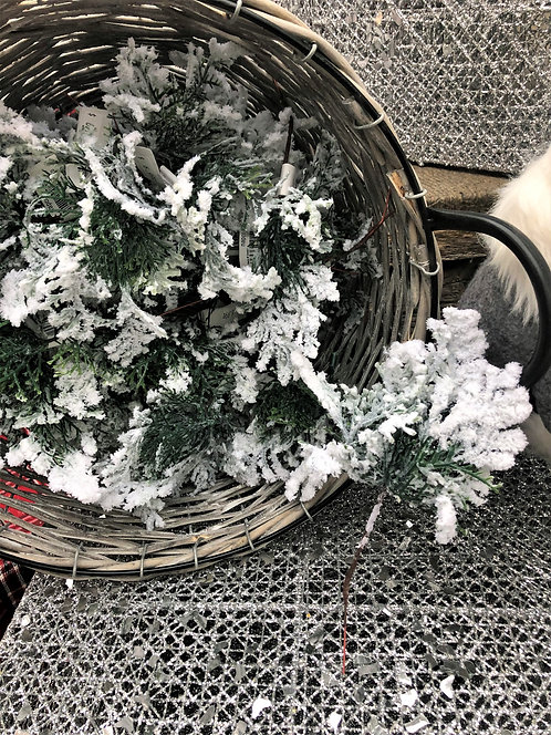 Frosted Tree Picks