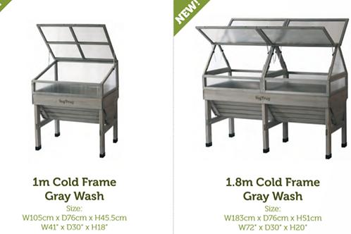 VegTrug - Cold Frame Grey Wash