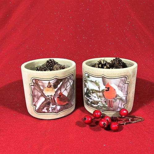 Rounded Cardinal Pots