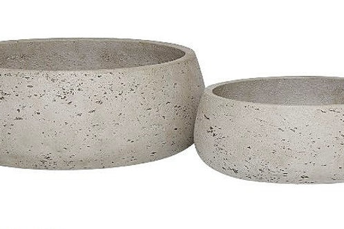 Grey Washed Cement Pots