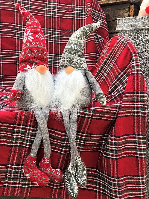 Shelf Sitting Plush Gnome