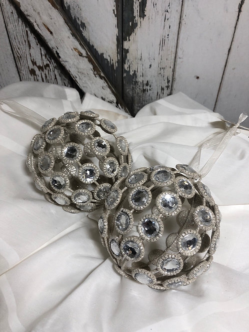 Large Crystal Ornaments