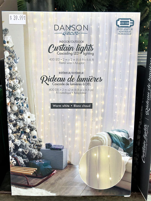 400 LED Curtain Lights