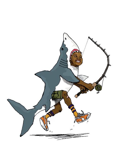 Shark Fine Art Print