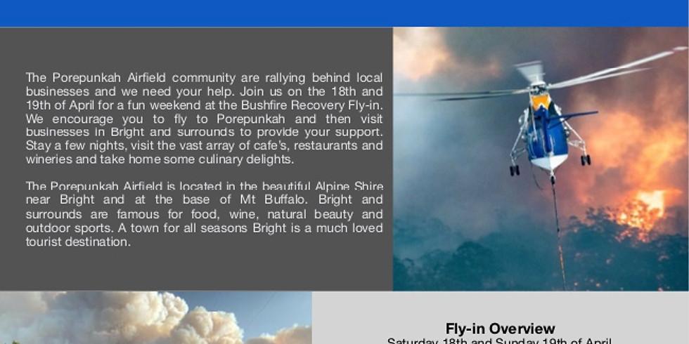 Porepunkah Airfield Bushfire Recovery Fly-in