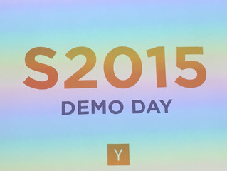 Y Combinator Batch Summer 2015 Demo Day