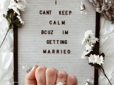 How to Announce Your  Engagement