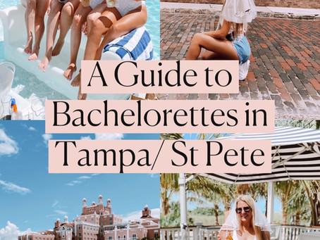 Bachelorette Guide to Tampa/St Pete