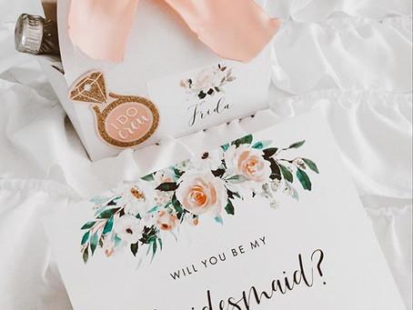 My Bridesmaids Proposal Idea