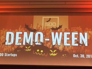 500 Startups Batch 14 Demo-Ween