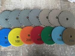 Diamond Dry Polishing Pad
