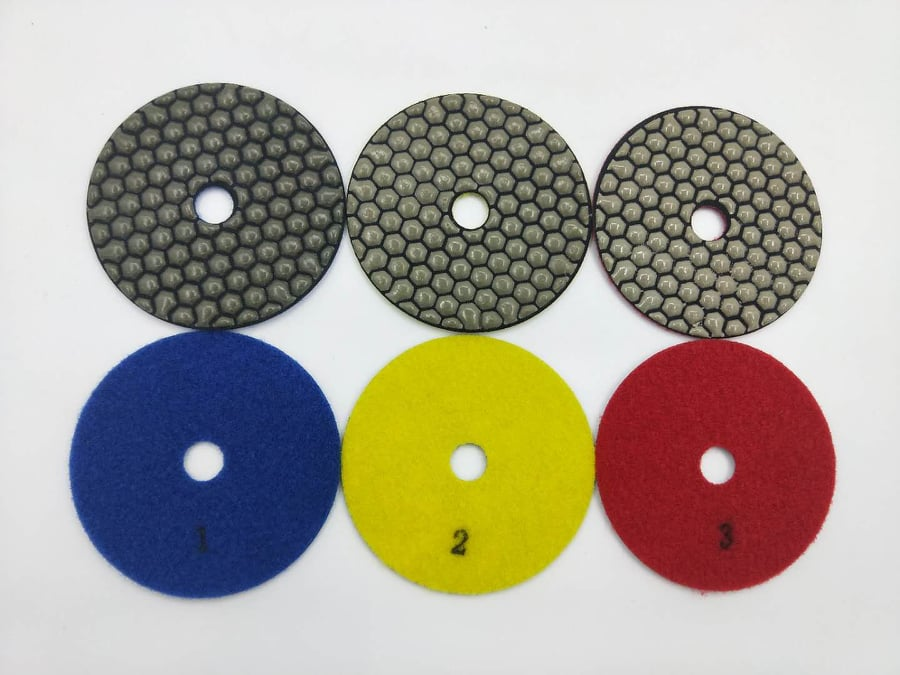 Diamon Polishing Pads 3 Step
