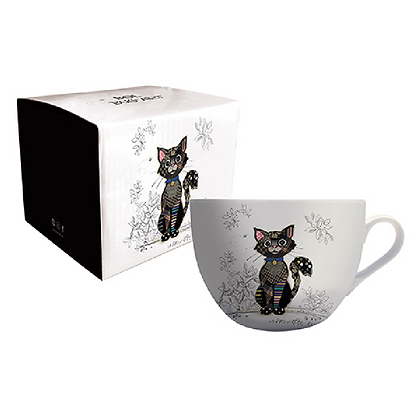 Bol Kiub Édition, chat noir Kooks.