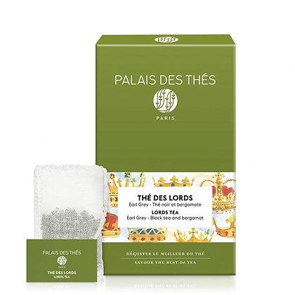 Thé des Lords, Palais des thés.