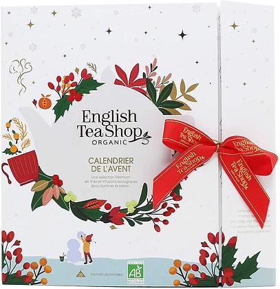 Calendrier de l'Avent livre English Tea blanc BIO