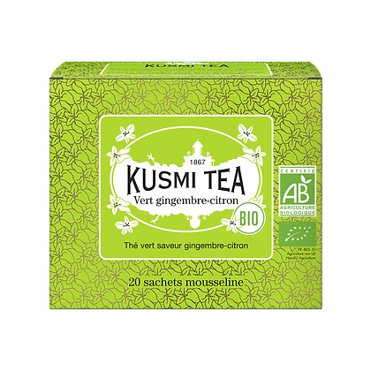 Gingembre citron Bio , Kusmi Tea.
