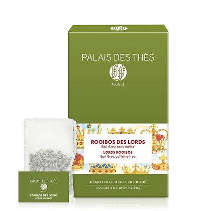 Rooïbos des Lords, Palais des thés.