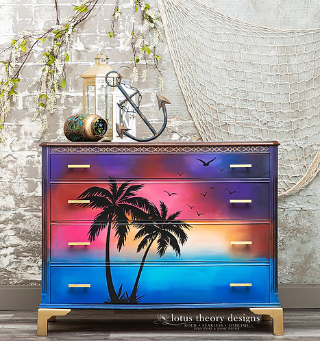 Sunset Dresser