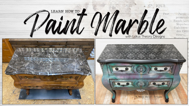 How to Paint Marble