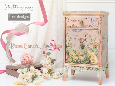 Breast Cancer Awareness: A Start to Finish Guide Creating this Nightstand