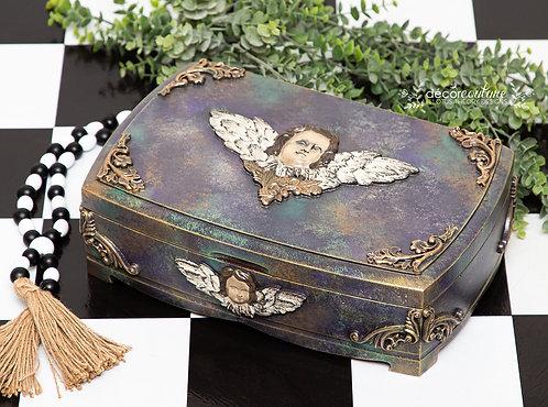 Cherub Humidor/Treasure Box