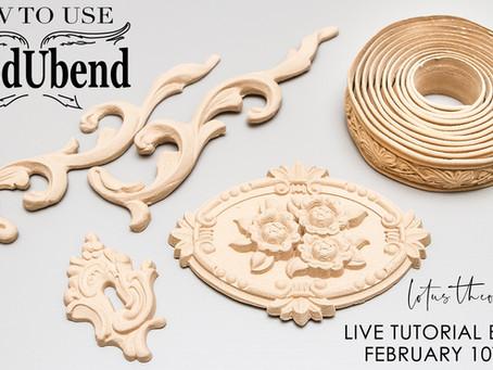 FB LIVE 02/10/20 - WoodUBend Mouldings