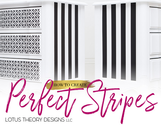 How to Create Perfect Stripes
