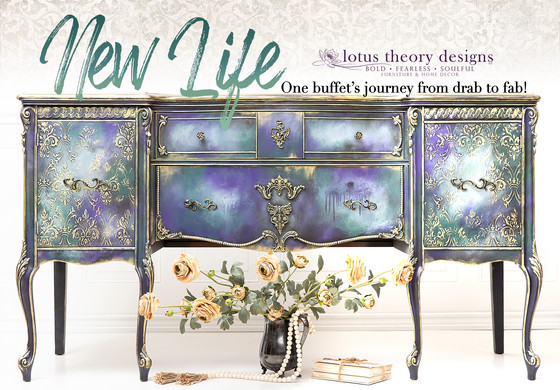 Giving a Gorgeous Buffet New Life!